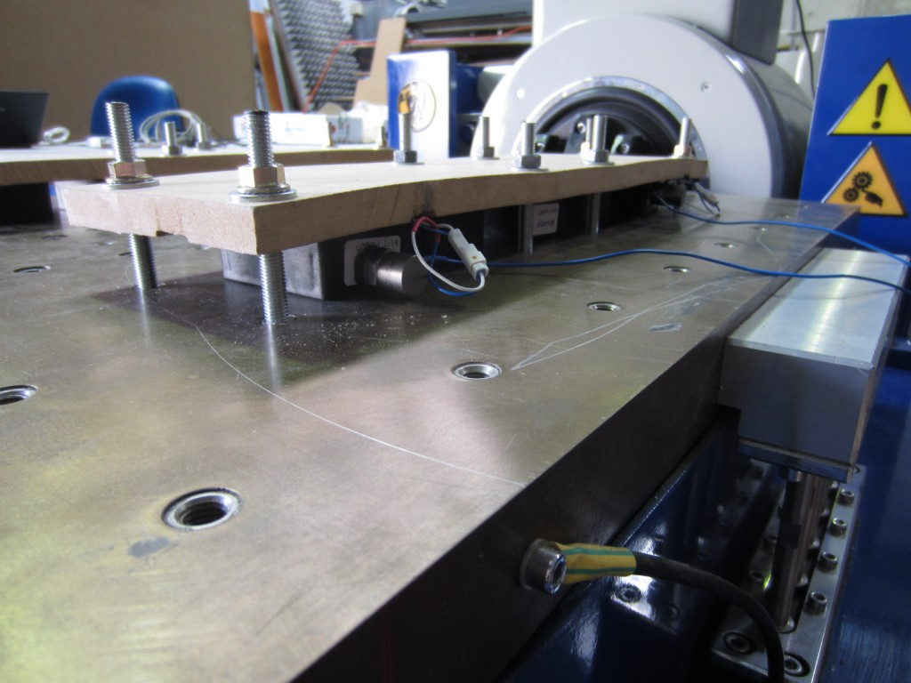 Horizontal Axis Vibration Testing