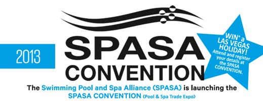 Swimming pool and spa trade expo thursday 15th aug 2013 for Pool spa trade show las vegas